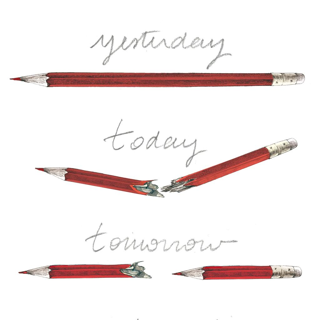 Raise you pencil for freedom
