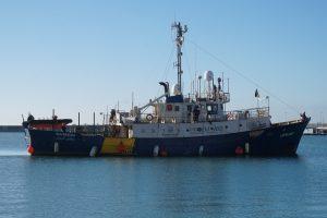 Schiff der Mission Lifeline