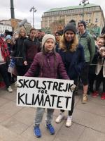 Schulstreik Woche in Hamburg: Greta Thunberg mit Luisa Neubauer. © https://www.facebook.com/gretathunbergsweden/