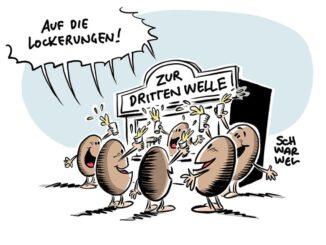 Die dritte Welle © schwarwel www.schwarwel.de