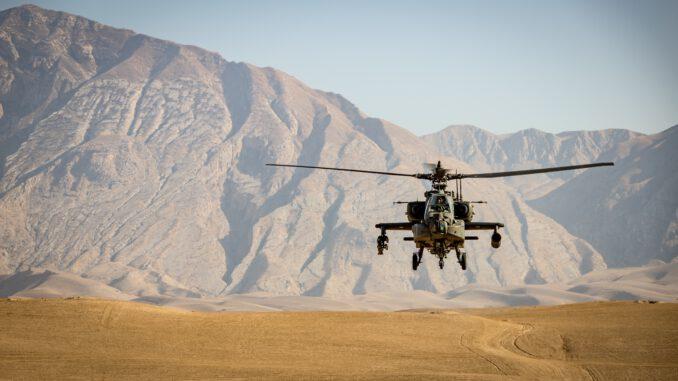 NATO-Hubschrauber in Afghanistan © André Klimke by unsplash.com